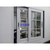 China Good Sealing Double Glazed Sliding Windows , Convenient Aluminium Fabrication Window on sale