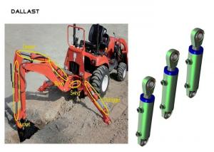 China Industrial Piston Type Hydraulic Cylinder Stainless Steel Excavator Boom Arm Bucket on sale