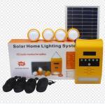 Appliances Home Solar TV Built-In Battery Solar Power Kit With Radio Wall Light