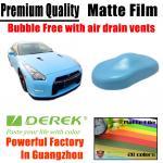 Matte Car Wraps Vinyl Film - Matte Sky Blue Car Wrapping Film