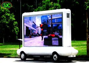 China Commercial Truck Mounted LED Screen HD Led Display P5 For Mobile Trailer on sale