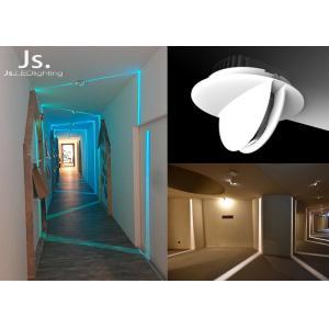 China Decorative Led Hotel Hallway Led Recessed Lighting6w White Aluminum Body on sale