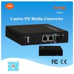 FCTEL OEM Industrial 2 Ports 10/100M UTP Fiber Optic Media Converter