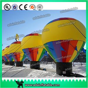 China Colorful Large Inflatable Balloon , Inflatable Advertising balloon,Hot Air Balloon on sale