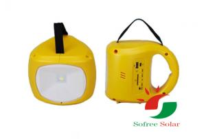 China Portable solar rechargeable led lantern on sale