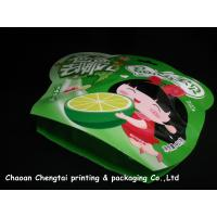 Colorful Small Shaped Packaging Pouches Safety For Fruit Candy / Cookies