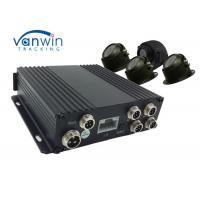 RJ45 Port 720P SD Card Mobile DVR , Security AVI Mobile DVR Recorder With GPS