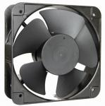 200 × 200 × 60mm AC Brushless Fan Motor , Equipment Exhaust Fan Radiator Type