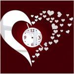 Reloj de pared decorativo de acrílico único de encargo de espejo del reloj DIY del reloj de acrílico del mudo precioso