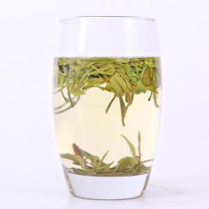China Emerald Green Chinese White Tea Yin Zhen Silver Needle 100% NO Additives on sale