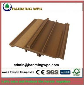 China outdoor wood plastic composite wpc wall panel wpc exterior wall cladding on sale