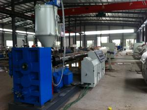 China 16-1200MM Plastic PE / PP Pipe Extrusion Line , Polyethylene Tube Making Machinery on sale