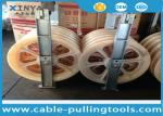 Large Diameter Bundled Conductor Pulley Power Line Stringing Equipment Block With Five Nylon Wheel 660mm
