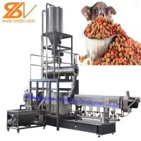 China Puffing Snack Dry Kibble Dry Dog Food Making Machine 380v / 50hz on sale