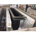 6 Inch X 6m Quadruple Line Hot Dip Galvanizing Equipment No Pollution