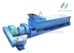 China Large Capacity Double Shaft Mixer Machine For Clay Cement Concrete on sale