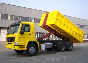 China Hydraulic Control System Automated Garbage Collection Truck 6X4 LHD Euro2 on sale