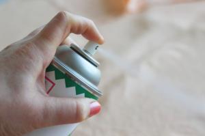 China spray starch on sale