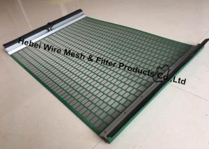 China Durable High Penetration Shale Shaker Screen Triple Layer Laminated Wire Mesh on sale