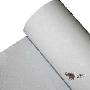 Quality 100% Recyclable Eco Polypropylene Textiles For Billboard Elephant Fabric for sale