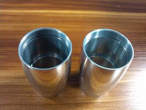 China Precision Aluminum , Brass ,  Zinc CNC turning components For Mechanical Equipment on sale