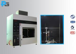 China Vertical / Horizontal Flame Apparatus Lab Testing Equipment 5V / HB/ V-0/1/2 UL94 on sale
