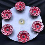 4 Inch 5 Inch 7 Inch Star Type Segment Grinding Cup Wheel Concrete Gridning Discs diamond cup wheel