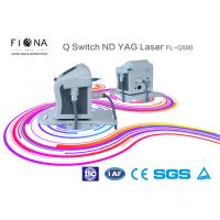 Q Switch ND YAG Laser Tattoo Removal Equipment , Carbon Peeling Picosecond Laser Machine