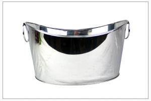China Beer stainless steel ice cooler, factory cost ice bucket, Stainless Steel Champagne Bucket, Wine Cooler Ice Bucket Water on sale