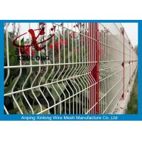 Customized Size Welded Wire Screen Green / Red / Yellow / White Color