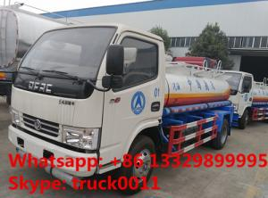 China 2020s new cheapest price dongfeng 6000L aviation fuel transportation truck for sale, hot sale fuel dispensing truck on sale