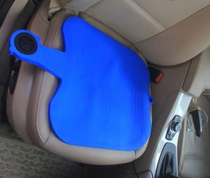 China Silicon Cooling Car Gel Seat Cushion Silica Gel Blue Color Soft And Highly Resilient on sale
