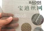 12 Mesh Galvanized Woven Square Crimped Wire Mesh Packed In Roll