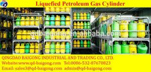 China LP Use and Steel Material LPG Cylinder on sale