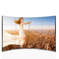 55 Inch 1080P FHD Curved LCD Video Wall Multi Touch With Wall Processor