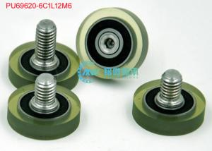China 6×20×5mm Polyurethane Bearing With Stainless Steel Screw PU69620-6C1L12M6 on sale