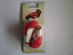 China Booxing gloves hanging air freshener on sale