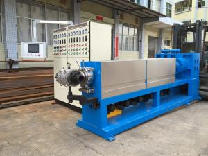China Dual Color Dual Layer Electric Wire Cable Sheathing Machine High Speed Extrusion on sale