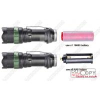 Cree Zoom Led Flashlight Rechargeable