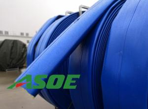 China BASF PU Pump Discharge Hose  , 8×330ft Flexible Hose For Water Pump on sale