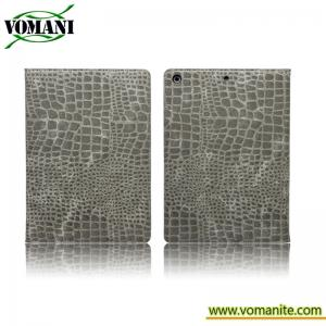 China crocodile leather case for ipad Air , skin cover on sale