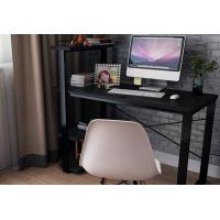 Nordic minimalist desktop computer desk , bookcase solid wood corner table
