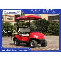 4 Wheel Mini Electric Car Golf Cart With 2 Rear Seats Powered By 48V free Maintenance battery 8V*6PCS