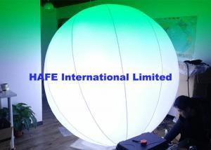 China Hanging Inflatable Lighting Decoration RGBW 400W DMX Stage Lighting 2m Diameter on sale