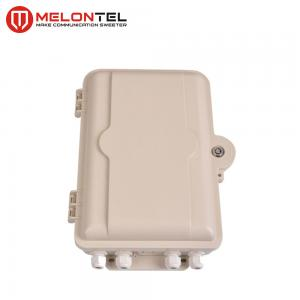 China Mount Type Fiber Optic Terminal Box SMC Plastic 24 Core With SC UPC Adaptor MT1412 on sale
