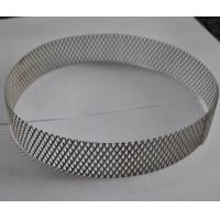 China 304 Stainless Steel Wire Expanded Mesh Circle As Filter , Metal Mesh Type on sale