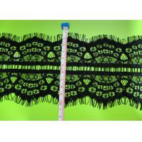 2013 Fashion Black Eyelash Lace Trim For Ladies Garment CY-HB0442
