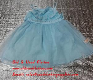 China Girls Silk Skirt Used Kids Clothes Second Hand Girls Clothes In Africa on sale