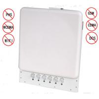China 12W White Plastic Cell Phone Blocking Device Jamming Distance 1-30M on sale