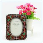 China Shinny Gifts natural metal photo frame for presents wholesale